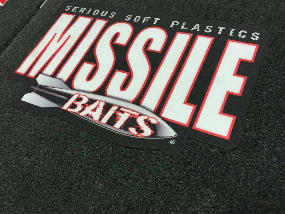 Missile Baits Carpet Decal Missile BaitsSerious Soft Plastics - Decals for boat carpet